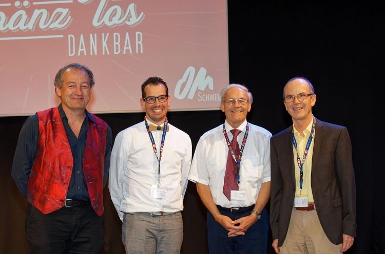 Anciens et nouveaux directeurs d'OM Suisse