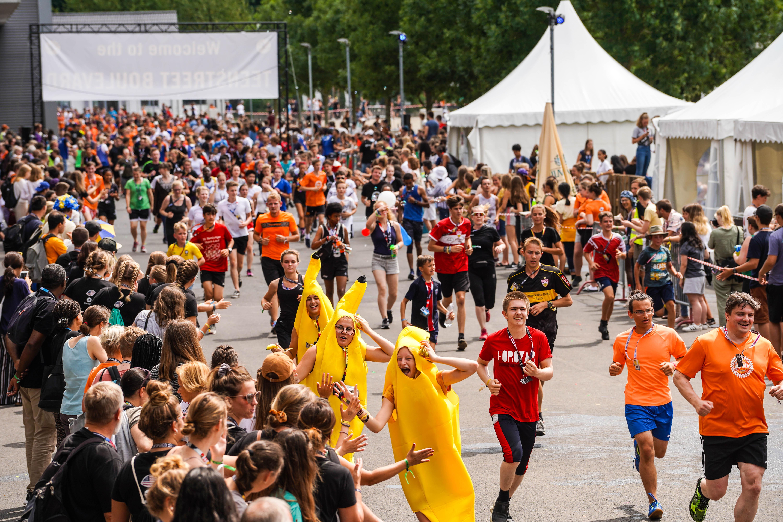 eim RAG-Rennen liefen über 1200 Personen mit und sammelten 85.453 Euro für Flüchtlinge © TeenStreet, OM