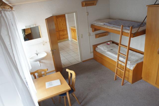 """Blick ins Schlafzimmer der Ferienwohnung \""""Uruguay\"""""""