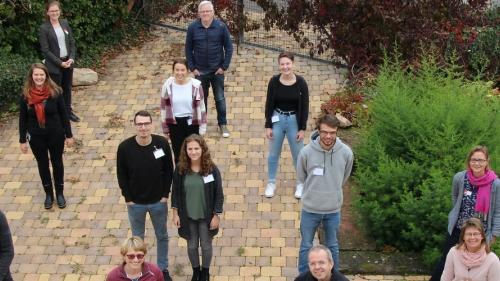 Teilnehmer und Mitarbeiter des EFS im Oktober 2020