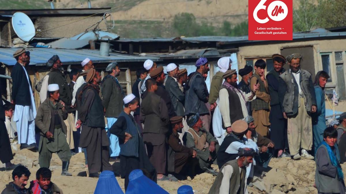 Das Evangelium für Afghanen per Radio übertragen