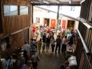 Nach dem Gottesdienst gab es viele Angebote in der Missionszentral von OM Deutschland in der OM-Deetken-Mühle. Mit leckerem Essen und Infos aus der weltweiten Missionsarbeit.