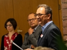 Bei der Übergabe der historischen Dokumente an das Stadtarchiv hielt unser Geschäftsführer eine Rede.