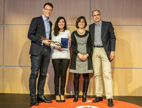 Gian und Eveline Walser (rechts) übergeben die Leitung von OM Deutschland an Doron und Lilian Lukat (links) © Achim Schneider, OM Deutschland