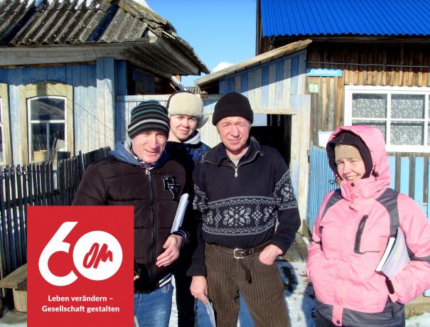 Absolventen der Jüngerschaftsschule von OM Russland
