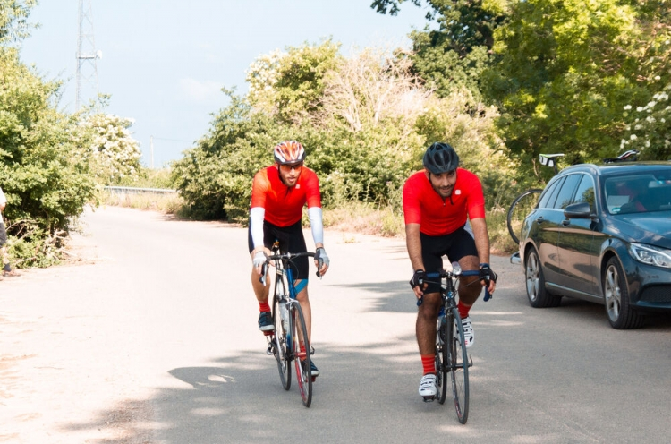 Cyclists spent 20 hours a day on the road during the 1,000 km Coronaride, a trek across Germany to raise funds for those impacted by the Coronavirus.