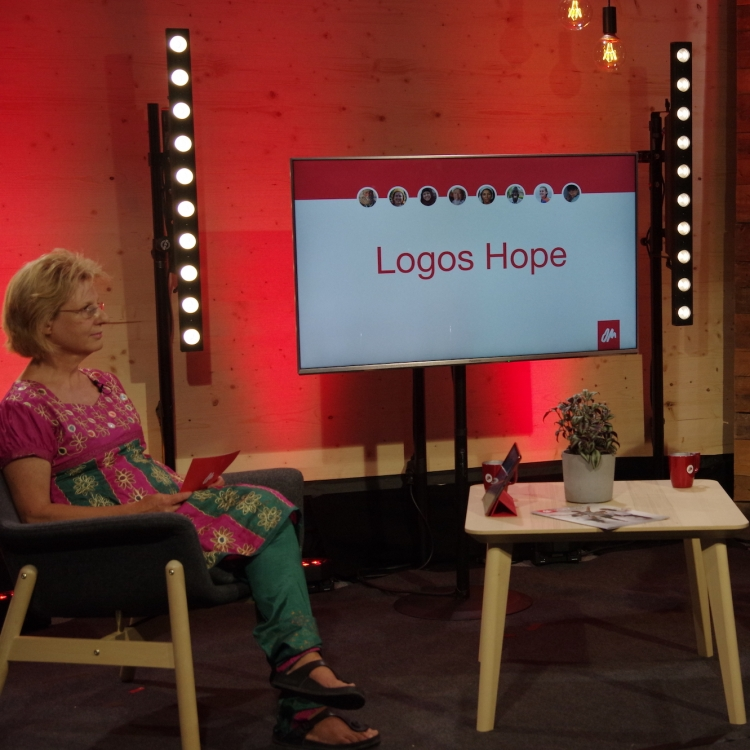 Info-Livestream zur Logos Hope