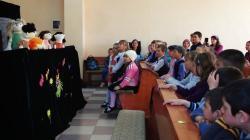 Easter puppet show in Nisporeni
