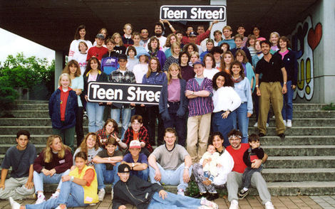 All participants at TeenStreet 1993