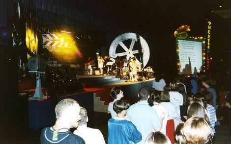 Stage at TeenStreet 1997