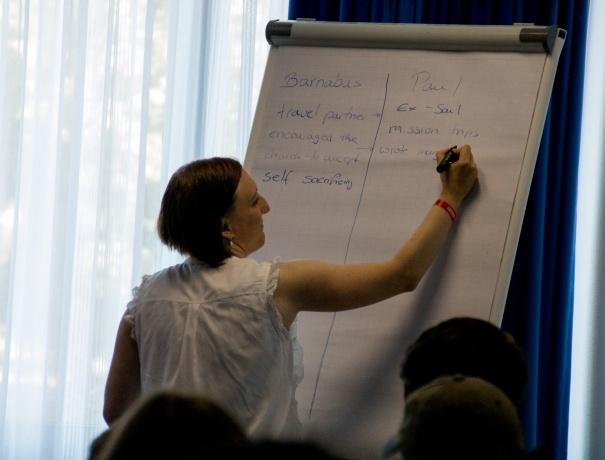 Workshop presenter at Equip Day