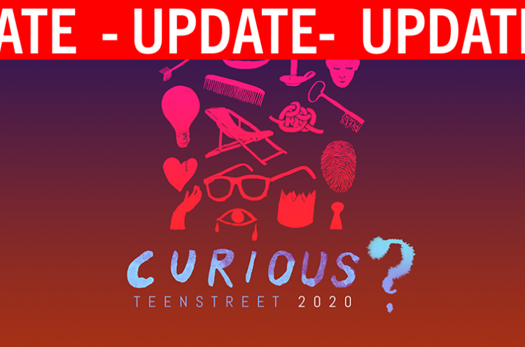 Image saying TeenStreet Curious Update